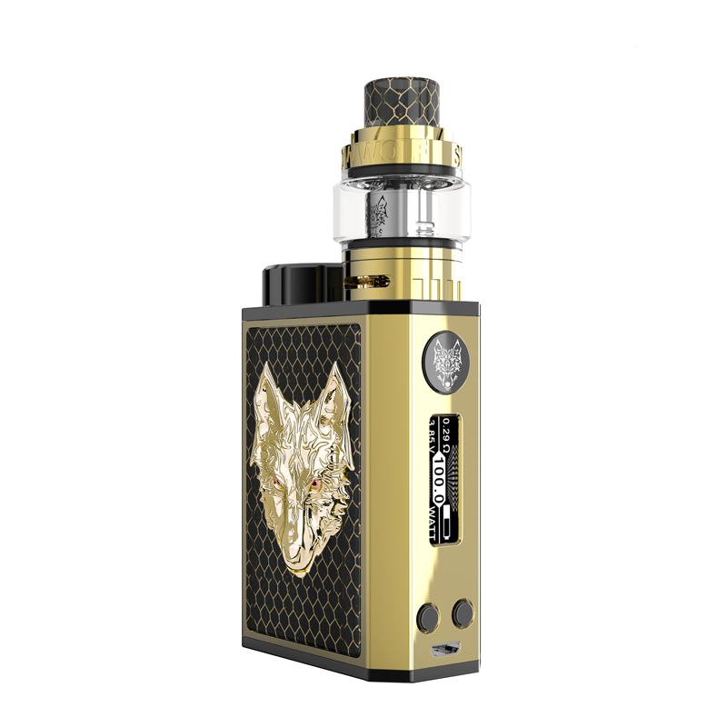 Vape kit Snowwolf Mini Kit 10-100w vape mod with snowwolf mini tank e electronic cigarette kit