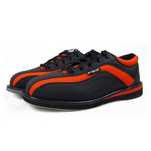 2017 black red bowling shoes unisex essential beginners with sports shoes high quality couple models men women sneakers(China)