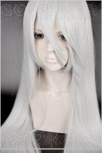Image 2 - Gioco NieR Automata YoRHa Tipo A No.2 A2 Parrucche di Cosplay Argento Bianco Lungo Resistente Al Calore Parrucca di Capelli Sintetici + Parrucca cap