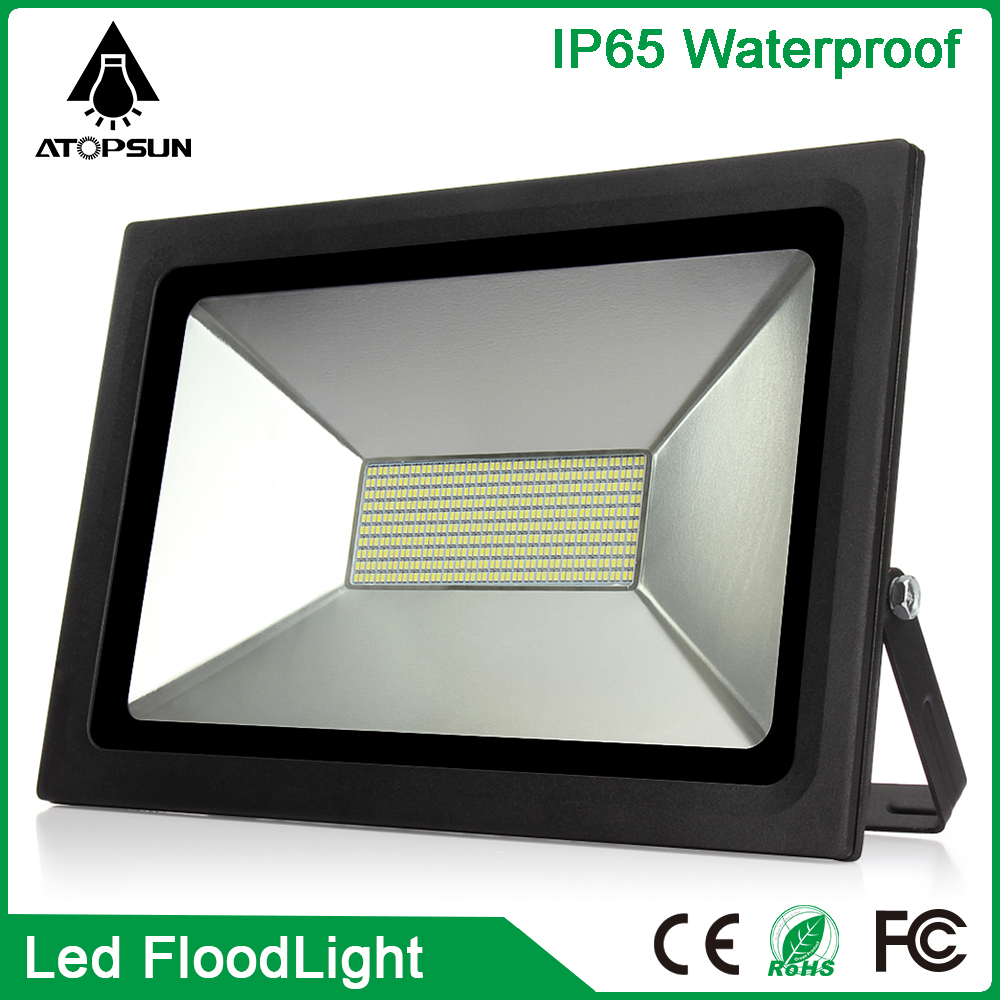 Super Thin LED Flood Light 150W 200W 300W 500W Reflector 220V Led Floodlight Garden light led Spotlight Outdoor lighting Lamp