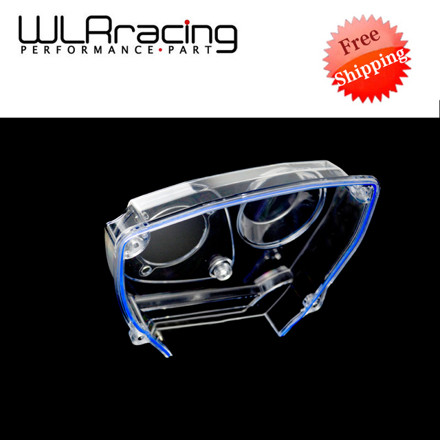 WLR RACING - FREE SHIPPING Clear Cam Gear For NISSAN Skyline R32 R33 GTS RB25DET Timing Belt Cover Pulley WLR6339