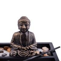 Feng Shui Garden Sand Buddha Rake Tealight Incense Holder L1008
