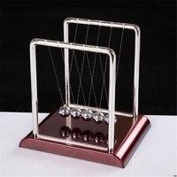 Newtons Cradle Stahl Balance Ball Physik Wissenschaft Pendulum Schreibtisch Spielzeug Spiele Schreibtisch Dekoration -