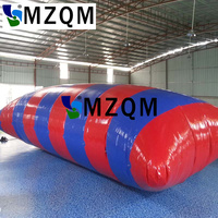 MZQM 8*3m Inflatable Water Blob Jump Pillow Water Blob Jumping Bag Inflatable Water Trampoline
