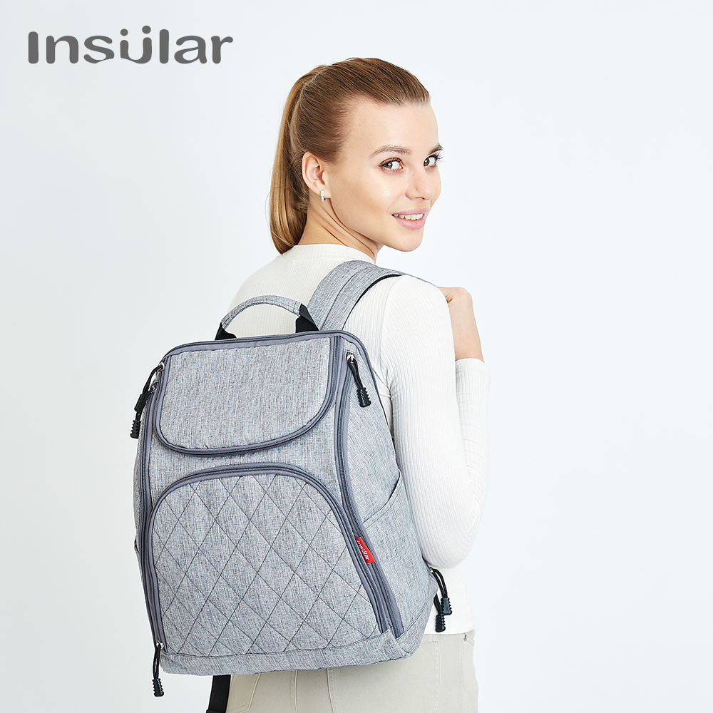 Insular Baby Diaper Backpacks Bags Nappy Stroller Bags Multifunctional Maternity Changing Bags For Mommy Women Backpacks large baby bag organizer diaper bag backpacks nappy stroller bags maternity for mommy women backpacks baby care page 5