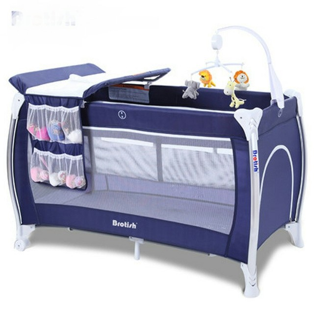 functional multi baby ppt foldable feeding bed rocking gaming item beds cribs portable