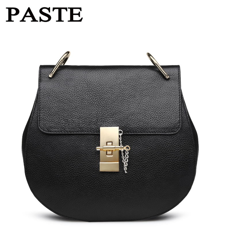 Hot Sale Popular Fashion Brand Design Women Genuine Leather Cloe Bag High Quality Real Cowskin Shoulder Bag Small Chain Bags цена