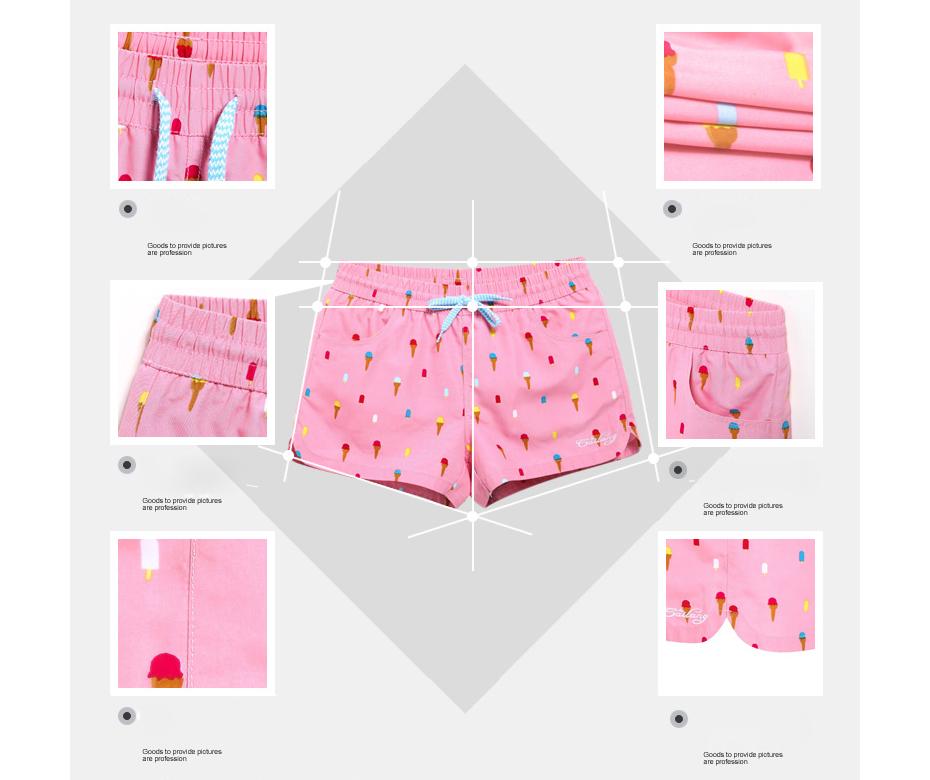 Gailang Brand Women Beach Board Shorts Sun Casual Active Shorts Jogger Sweatpants Woman Quick Drying Boxer Trunks Shorts Fashion 14