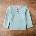 Spring Boys T-shirt Long Sleeve Pure Color O-Neck Boy T shirt Kid Clothes Children Clothing Cool baby Boys Clothing