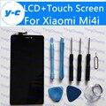 Pantalla lcd + touch de pantalla para xiaomi mi4i nuevo ensamblaje del panel de cristal digitalizador de pantalla para xiaomi mi 4i envío libre en la acción