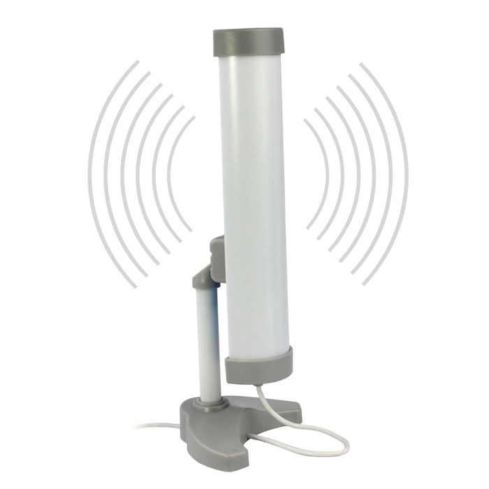 """VOBERRY חדש ארוך טווח (3 ק""""מ) גבוהה כוח (5800 MW) 58DBI USB גוזז אלחוטי Wifi מתאם אנטנה"""