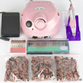 Electric Nail Drill Manicure Set File Grey Nail Pen Machine Set Kit without original box