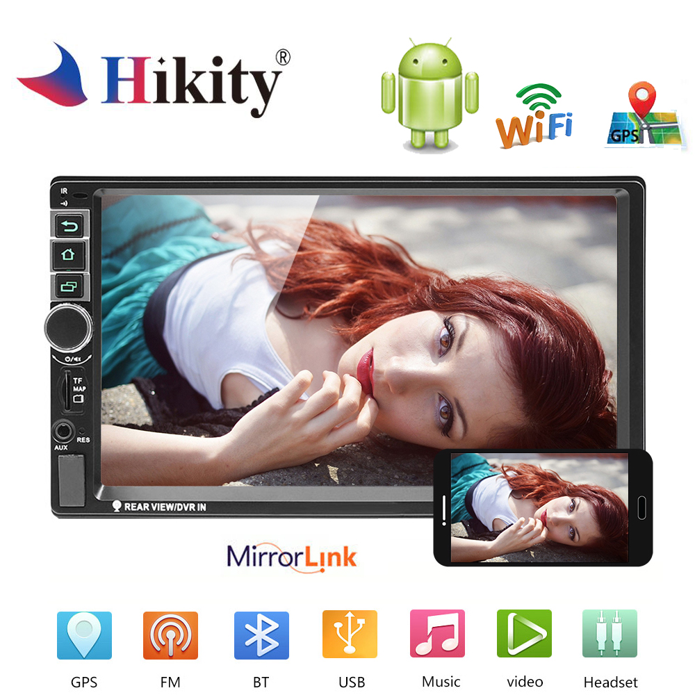Vente Hikity Android 2 Din Autoradio GPS 8802 Universel Voiture ...