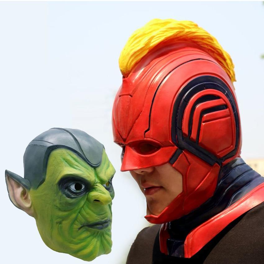 Marvel Legends Action Figure Toys Hero Cosplay Party Skrull Adult Children Captain Mask
