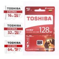 TOSHIBA Memory Card Micro Sd Cards Tf Card 32GB 16GB 64GB Class 10 UHS 1 Mini