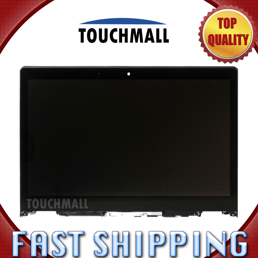 цена  For New LCD Display Touch Screen + Frame Assembly Replacement Lenovo Yoga 3 14 5DM0G74715 80JH 14-inch Black Free Shipping  онлайн в 2017 году