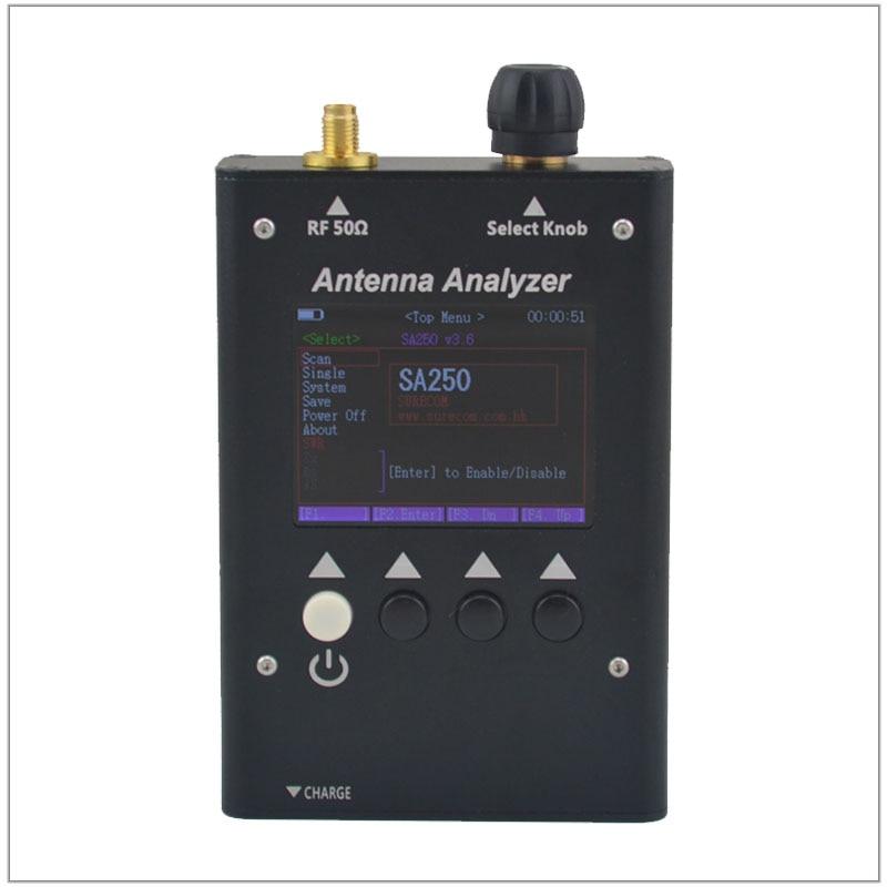 SURECOM SA-250 132-173 / 200-260 / 400-519MHz Colour Graphic Antenna Analyzer