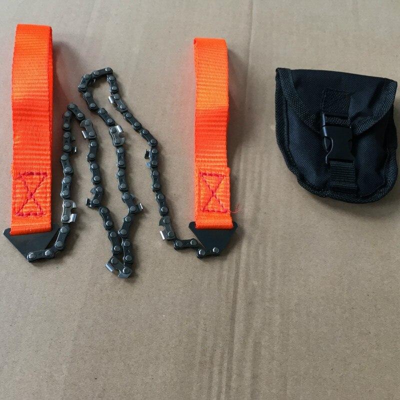 Hand Kettensäge Notfall Tasche Getriebe Chic Camping outdoor Überlebens-werkzeug