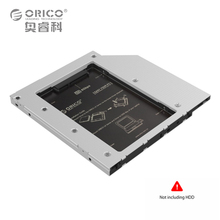 ORICO L95SS CD-ROM Space SATA to SATA 2.5″ Internal 9.5mm or thinner SATA1/2/3 SSD HDD Caddy Enclosure (No Hard Disk) for Laptop