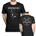 New Bathory Goat t shirt men Blood Fire Death Hammerheart two sides Short Sleeve casual printed tee USA plus size s-3xl