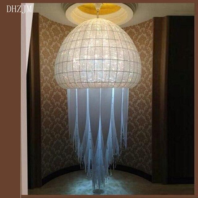 Top Luxury Big Europe Large Er K9 Crystal Led Chandelier Light Lighting S Department