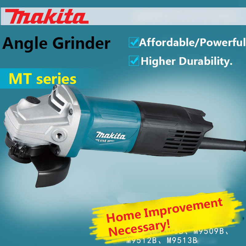 все цены на Japan Makita Angle Grinder M0900B / M9513B Polishing machine M9506B Grinding and cutting machine M9509B 540W/720W/850W онлайн