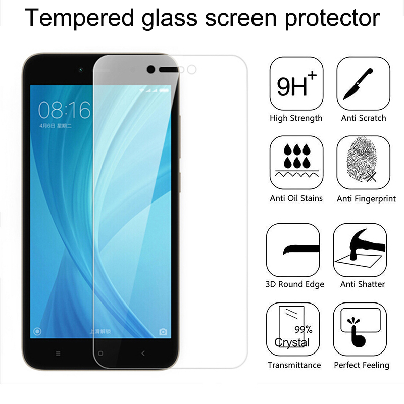 Tempered Glass For Xiaomi A2 Glass Protective For Xiaomi Mi Max3 Tempered Glass For Redmi 6pro S2 Note 4X Note5 Glass Protector