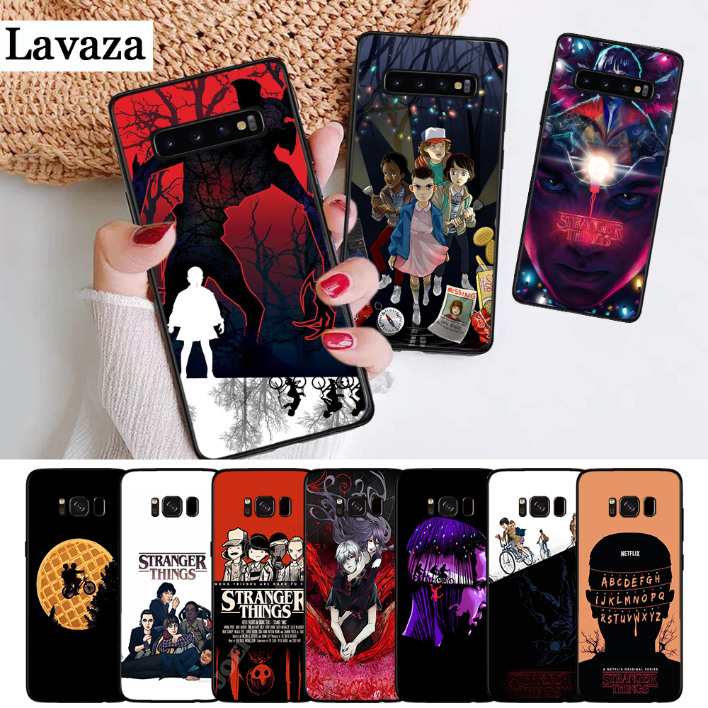 Lavaza should stay Stranger Things Silicone Case for Samsung S6 Edge S7 S8 Plus S9 S10 S10e Note 8 9 10 M10 M20 M30 M40