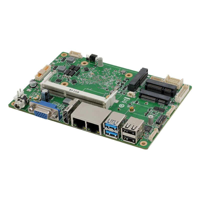Intel Celeron J1900 Công Nghiệp Mini ITX Bo Mạch Chủ Dual NIC 6 XCOM 8xUSB Wifi BT HDMI VGA Windows Hỗ Trợ Linux 4G LTE Sim