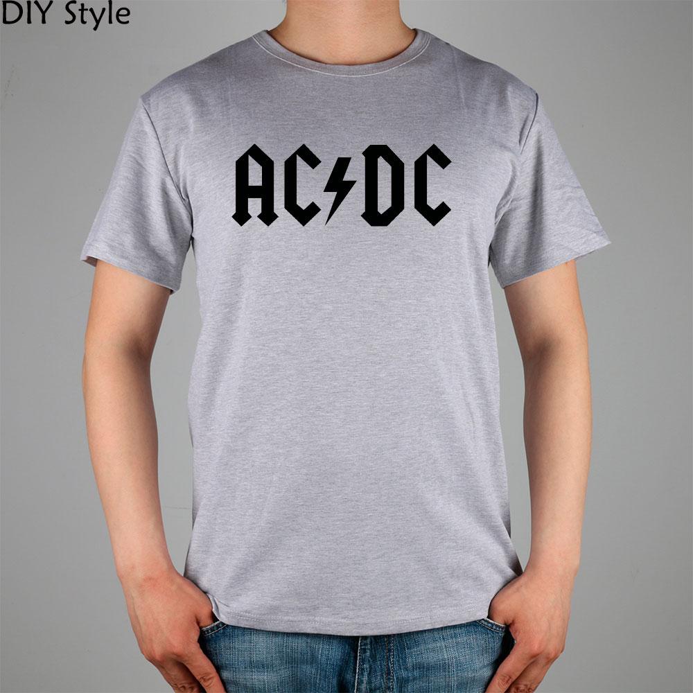 Flash Rock N Roll Ac Dc T Shirt Top Lycra Cotton Men T Shirt New