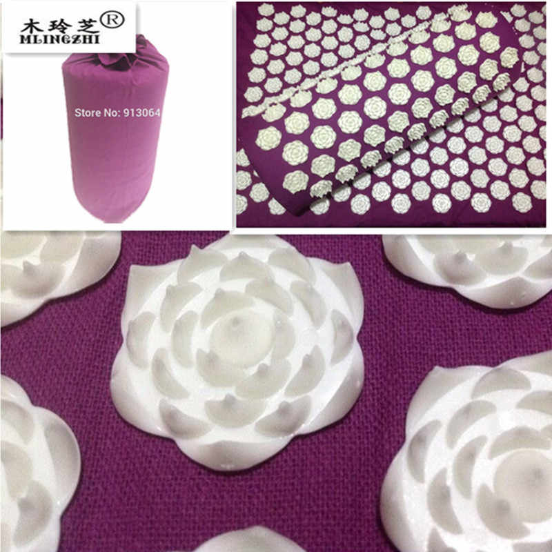 Stress In Rug.Dropshipping Mat Acupressure Massager To Relieve Stress Body