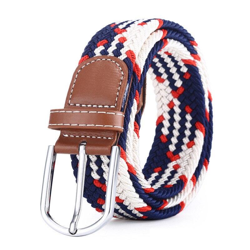 49789eeccc8 Cheap Cinturón de diseño informal para hombre Jeans pantalones casuales  cinturón de poliéster para hombre Regalos