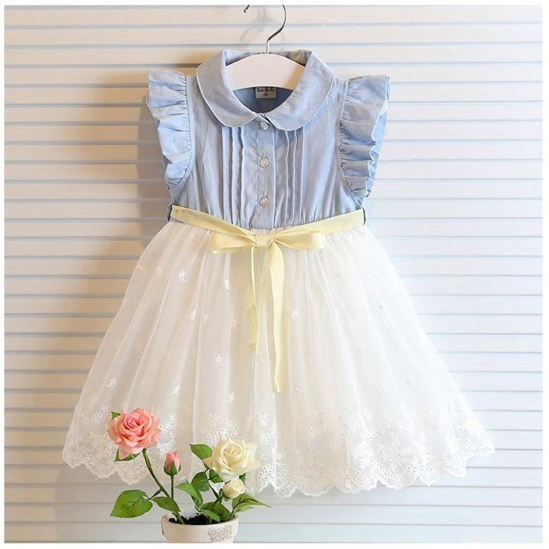 c485e003b14c 2015 Latest Cute children tulle summer dress kids clothes girls ...