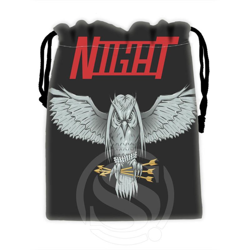 Unique Design Custom Owl #9 Drawstring Bags For Mobile Phone Tablet PC Packaging Gift Bags18X22cm SQ00715-@H0316