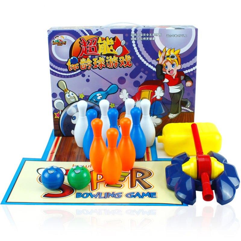 juegos de bolos conjunto con calle outdoor fun u sports juguete de interior del deporte competencia