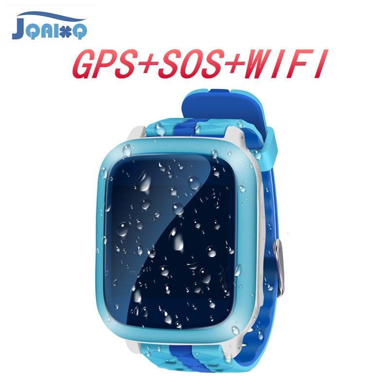 Niños Smart Watch GPS Activity Tracker reloj SOS localizador buscador de llamadas Kid Safe niños Smartwatch para niños Anti Lost SIM tarjeta