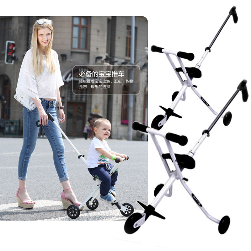 Portable Folding Lightweight Baby Carriage Toddle Kids Child Tricycle Stroller Baby Pram Travel Three Wheel Buggy Pushchair 1~6Y