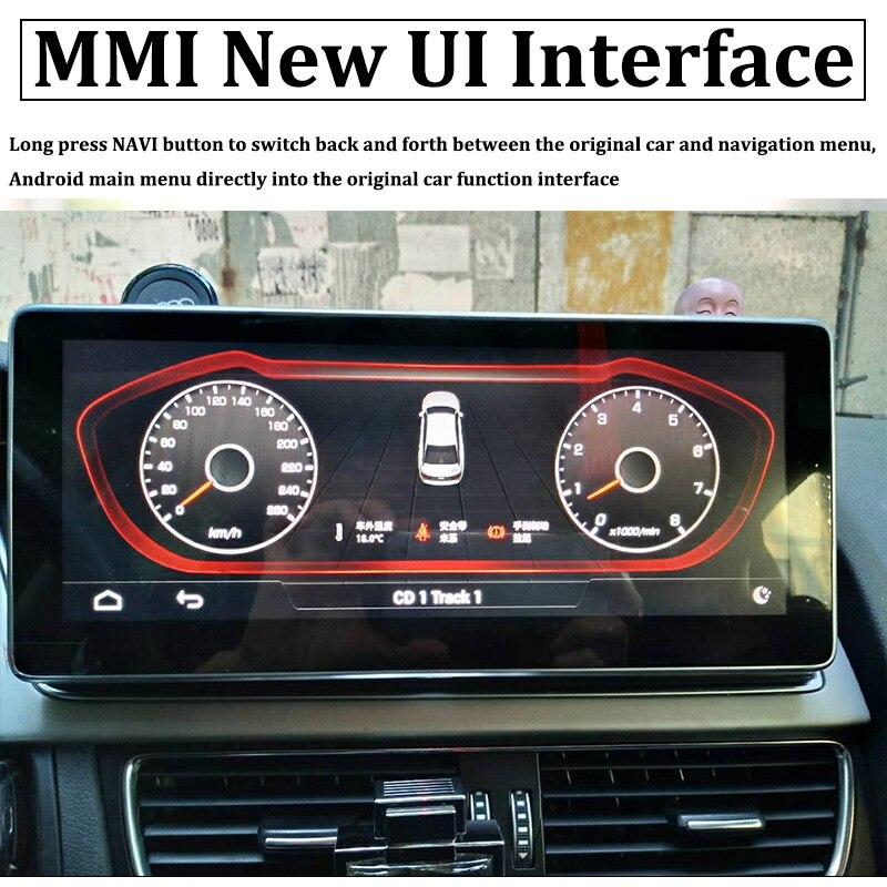 Liislee Car Multimedia Player NAVI 10.25 inch For Audi A4 B8 8K 2009~2016 Original Car MMI Style Radio Stereo GPS Navigation (2)