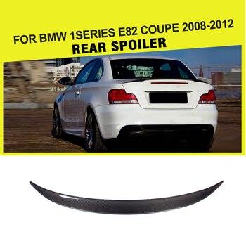 الكربون الألياف المفسد الجذع الجناح التمهيد الشفاه ل BMW 1 سلسلة 128i E82 كوبيه 2008 2009 2010 2011 2012