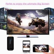 Efficacité EZCast TV Dongle TV bâton Double Bande 2.4 GHz + 5 GHz WiFi Miracast Airplay DLNA TV Bâton Plein-HD 1080 P