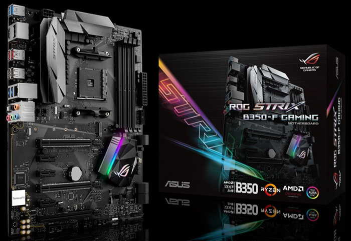 Asus ROG STRIX B350-F GAMING Motherboard REPUBLIC OF GAMERS AMD B350 Socket AM4 Desktop Motherboard Used 90%new