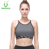 2018 Sweat Quick Drying Running Vest Shockproof Sports Bra Yoga Fitness Vest Workout Tank Top Seamless Underwear