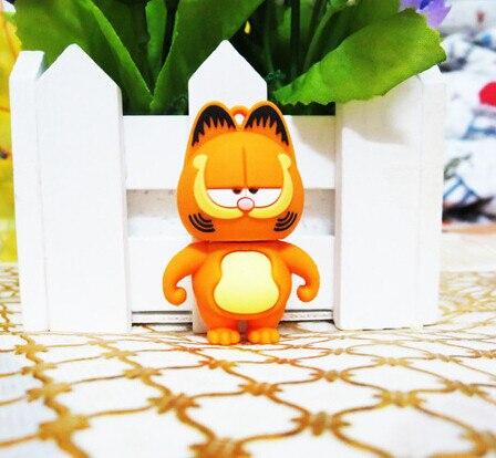 yellow cat usb flash drive 2gb 4gb 8gb 16gb 32gb 64gb usb flash drives thumb pendrive u disk usb creativo memory stick S238
