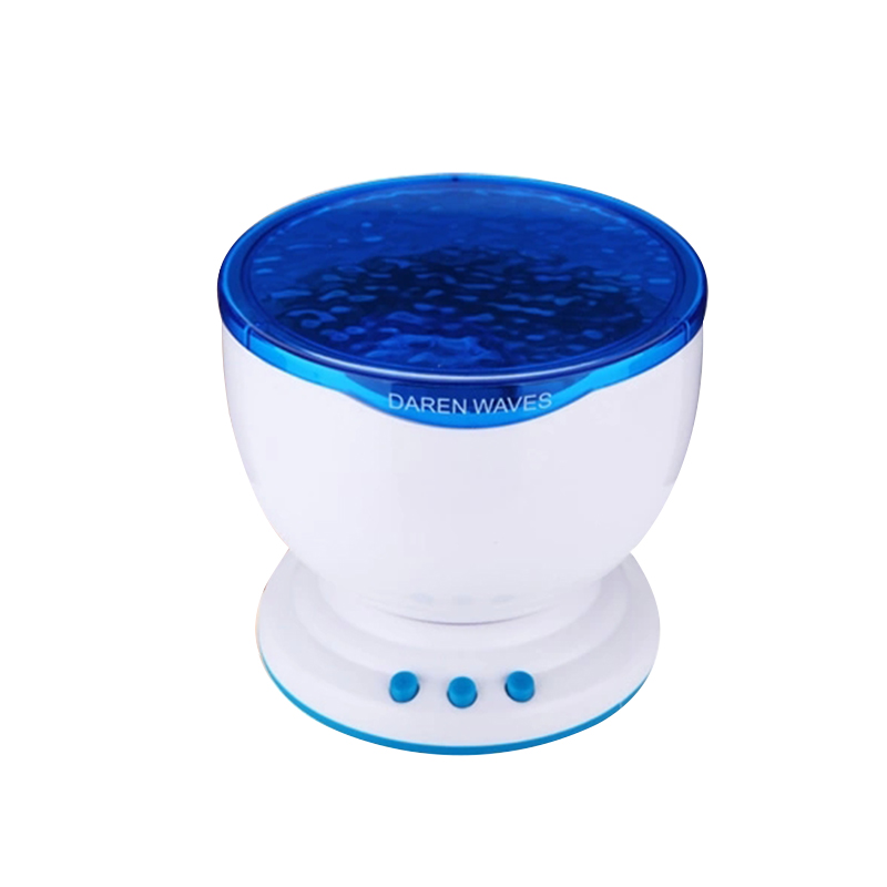 TRANSCTEGO LED projection lamp USB charging atmosphere lamp therapy projection light Creative speakers night light