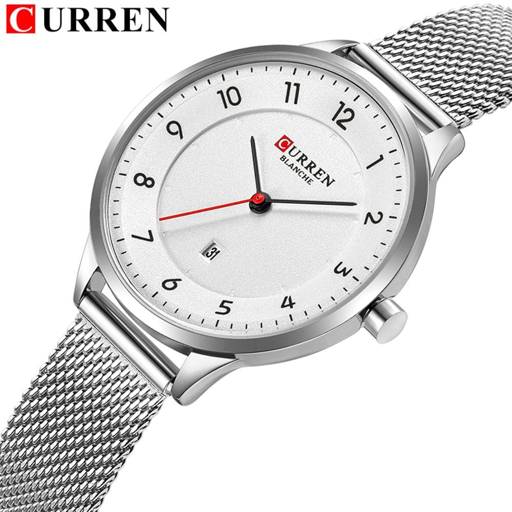 CURREN 9035 New Women Watch Quartz Top Brand Luxury Fashion Women Wristwatches Ladies Gift Relogio Feminino