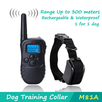 DeeiPet Dog Training Collar With Wireless Remote WaterProof Rechargeable Control Operation For Large Medium And Small