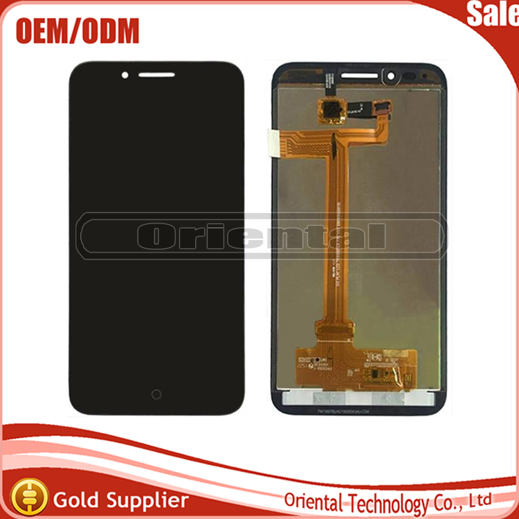 LCD Display With Touch Screen Digitizer Assembly For Alcatel One Touch Idol Conquest 7046 OT7046 Black Color Free Shipping