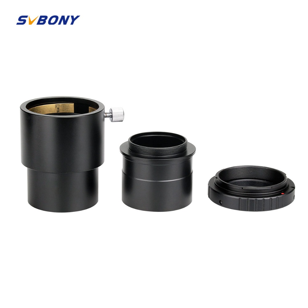 цена Svbony 2 inch Telescope Eyepiece Extension Tube +Camera Mount Adapter+ 2