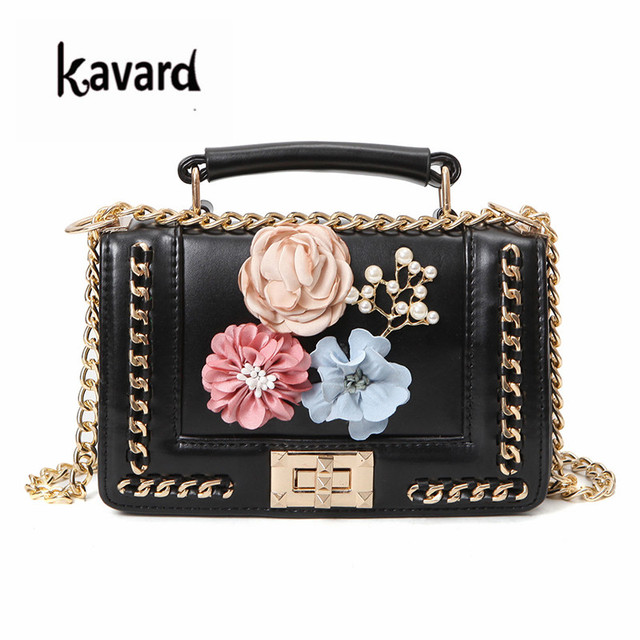 kavard Flowers Mini bag handbags women famous brand luxury handbags women  bags designer bag Crossbody Messenger bag sac a main