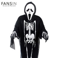 Fansin Brand Halloween Costume Party Children Clothing Skeletons Ghosts Cosplay Clothing Show Fancy Dress Horror Family